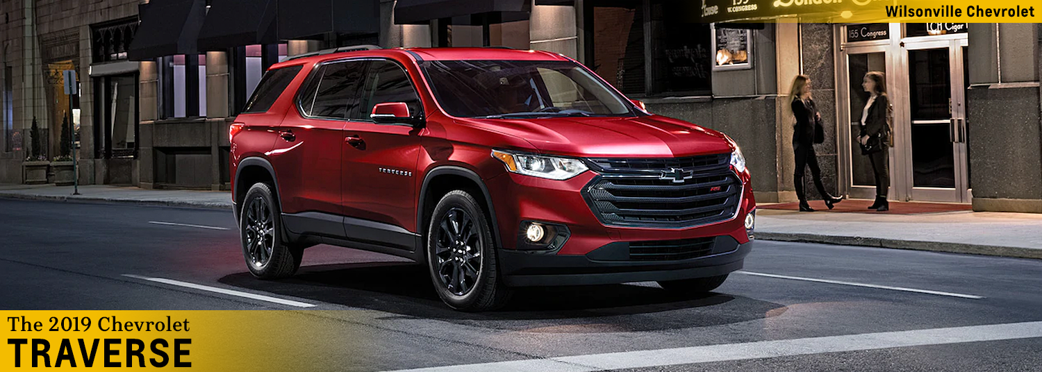 2019 Chevy Traverse Wilsonville Or Midsize Suv Information