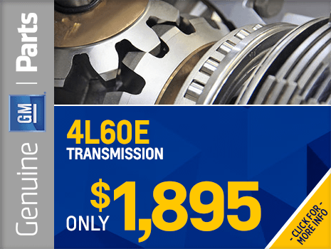 Click To View Our Genuine Chevrolet Replacement Transmission Parts Special  Offer In Wilsonville, OR