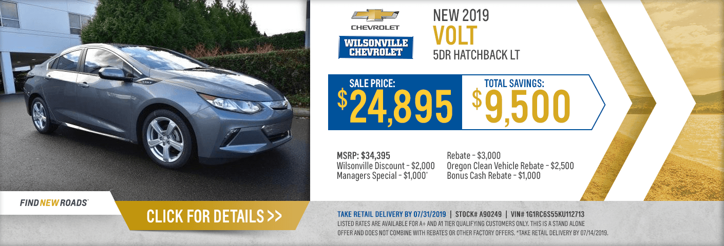 New Chevy Car Specials Portland Salem Or New Suv Vehicle