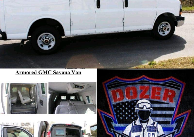 Our armored 2014 GMC Savana vans
