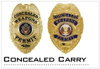 Concealed Carry Badges