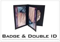 Badge & Double ID Cases