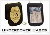 Undercover Badge Cases