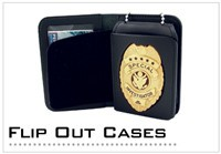 Badge & ID Flip Out Cases