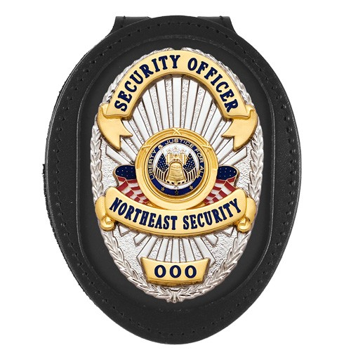 Deluxe Recessed Badge Backer with Universal Cutout