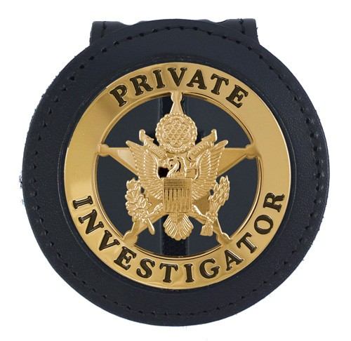 Deluxe Recessed Badge Backer with 2 1/4'' Round Cutout