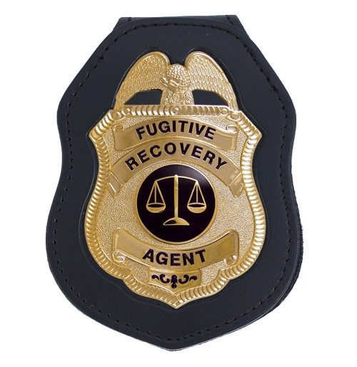 Deluxe Recessed Badge Backer with Metro Shield Cutout