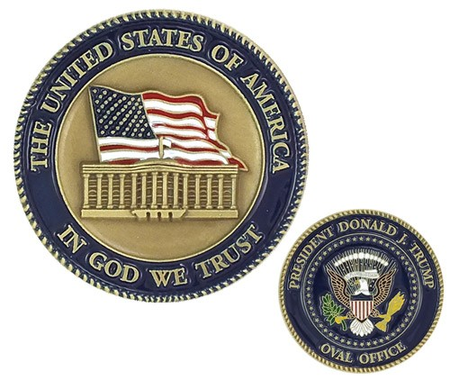 President Donald Trump Challenge Coin