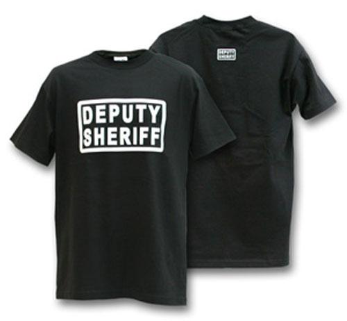 Deputy Sheriff Black T-Shirt