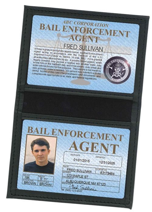 Bail Enforcement Agent Standard Folio in Case