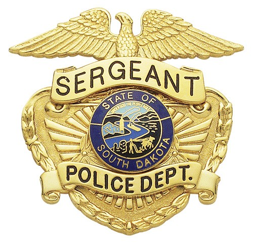 2.58 inch Eagle Top Smith & Warren Hat Badge M443