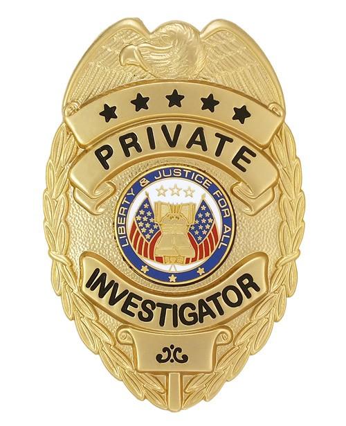 Private Investigator Badge
