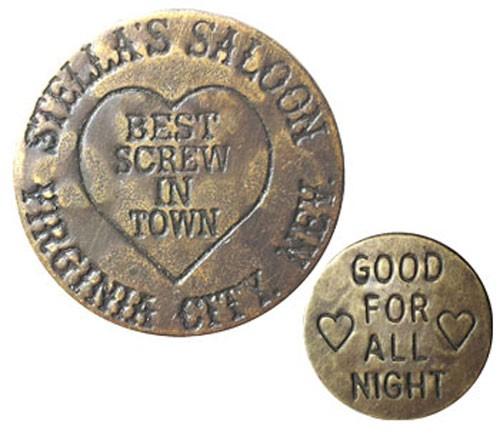 Stella's Saloon Brothel Coin