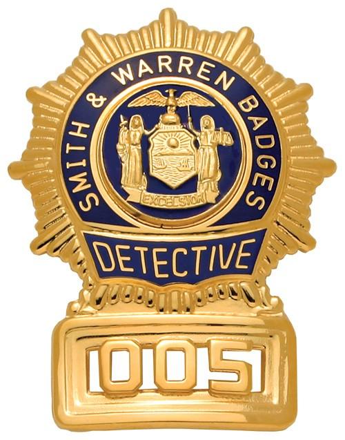 2.83 inch Sunburst Smith & Warren Badge S24X