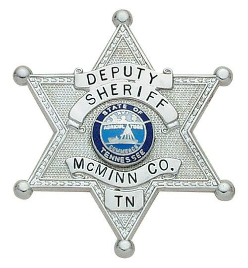 2 inch 6 Point Star Smith & Warren Badge S250