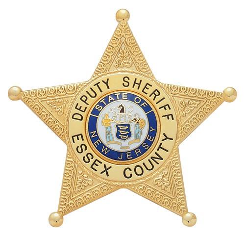 2.92 inch 5 Point Star Smith & Warren Badge S86