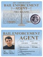 Bail Enforcement Agent Standard Folio