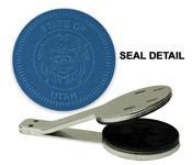 Utah State Seal Embosser