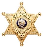 2.625 inch 6 Point Star Smith & Warren Badge M385V