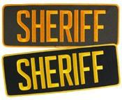 Large Velcro Sheriff Patch