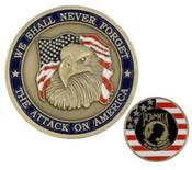 9/11 Commemorative Challenge Coin