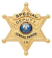 2.71 inch 6 Point Star Smith & Warren Sheriff Badge S254A