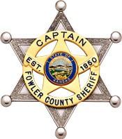 3.25 inch 6 Point Star Smith & Warren Sheriff Badge S626AP