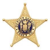 1.53 inch 5 Point Star Smith & Warren Badge S86M