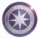 Round Compass Rose Foil Hologram