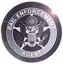 Round Bail Enforcement Foil Hologram