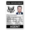 Bail Enforcement PVC ID Card BFP017