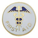 Caduceus First Aid Center Seal