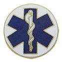 Caduceus Star of Life Center Seal