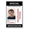 Special Investigator PVC ID Card C207PVC