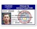 Private Investigator PVC ID Card C503PVC