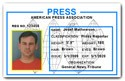 Press PVC ID Card C509PVC