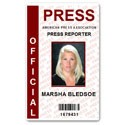 Official Press PVC ID Card