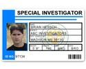 Special Investigator PVC ID Card C514PVC