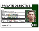 Private Detective PVC ID Card C516PVC