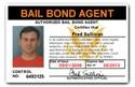 Bail Bond Agent PVC ID Card