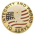 Proud to Serve Center Seal