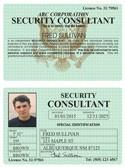 Security Consultant Classic Folio