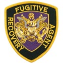 Eagle Fugitive Recovery Agent Patch