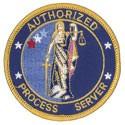 Authorized Process Servers Patch