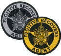 Fugitive Recovery Agent Badge Patch