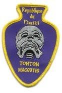 Haiti Tonton Macoutes Patch