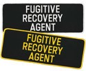 Large Fugitive Recovery Agent Patch