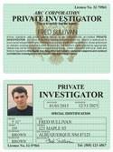 Private Investigator Classic Folio