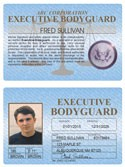 Executive Bodyguard Standard Folio
