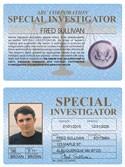 Special Investigator Standard Folio